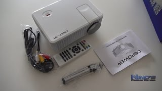 Mini LED Projector RD805 Review