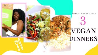 3 QUICK + EASY Healthy Vegan Dinners ft. GREEN CHEF
