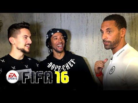 Fifa 16 Launch: Rio Ferdinand on Martial & Man United Title Chances