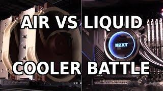 Air Cooling vs. Liquid Cooling: The Ultimate Showdown (feat. Noctua NH-D15 vs. NZXT Kraken X72)