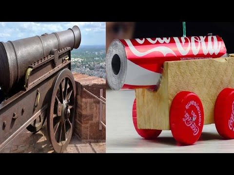 2 Simple Life Hack With Coca Cola Can And Make Powerful Cannon