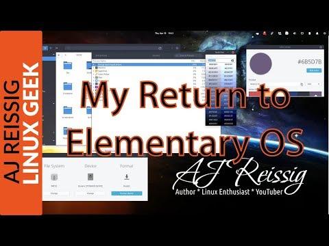 My Return to Elementary OS
