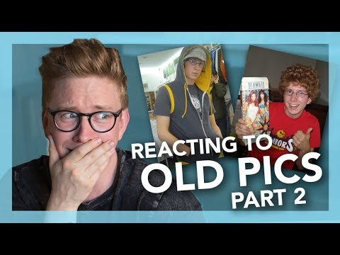 Reacting To Embarrassing Facebook Pictures (Part 2) | Tyler Oakley