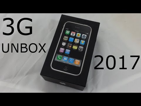 V-Log: iPhone 3G Unboxing 2017 (feat. iPhone X)