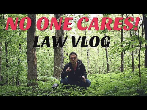 NOBODY CARES WHAT YOU THINK! [LAW VLOG]