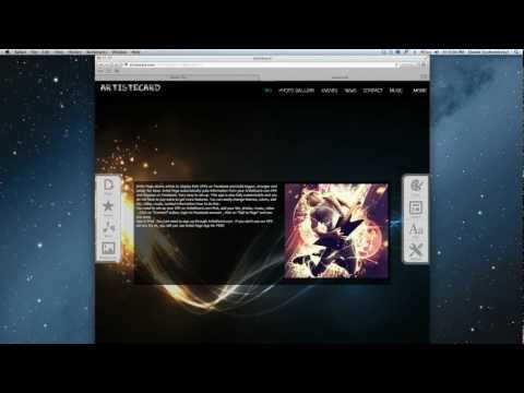 ARTISTECARD - Video Tutorial - Epk and Web Builder