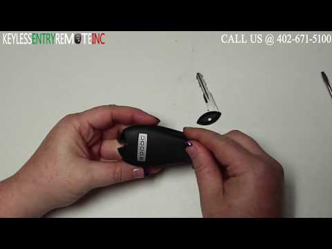 How To Replace Dodge Dart Key Fob Battery 2013 - 2016