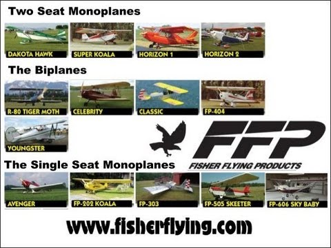 Fisher Flying Products, all wood plans built ultralight and experimental amateurbuilt aircraft.