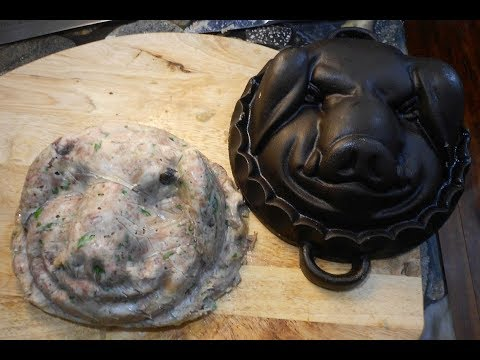 Brain over Brawn or: Cast Iron Head Cheese