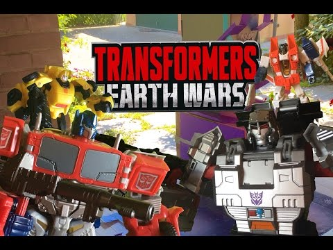 Transformers: Earth Wars Stop Motion Battle - Attack on the Decepticon Base