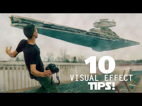 10 Tips for Filming Visual Effects!