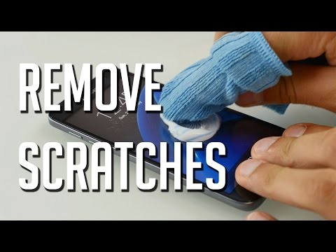 Remove Scratches from your Smartphone Screen with TOOTHPASTE !