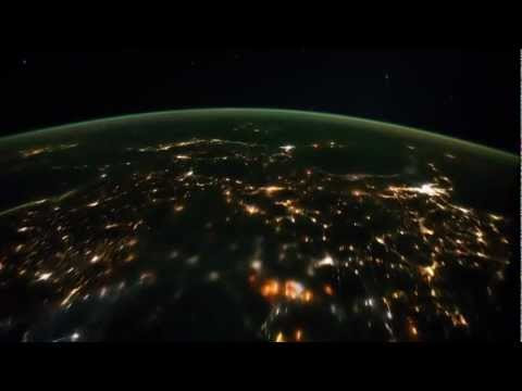 Earth view by Satellite cam