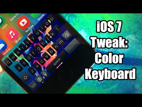 iOS 7 Jailbreak Tweak: Color Keyboard