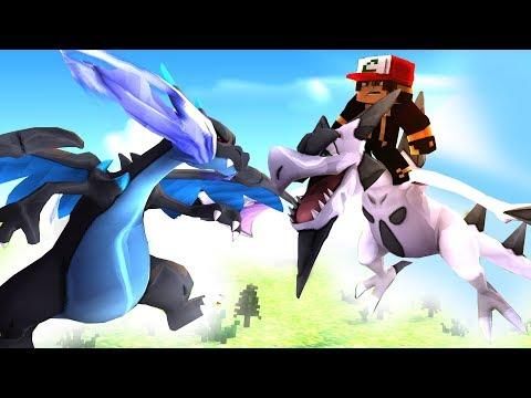 Minecraft Pixelmon Dark, Charizard X vs Mega Aerodactyl Pokemon 31
