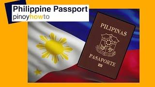 New Philippine Passport How To Get New Philippine Passport Pinoyhowto