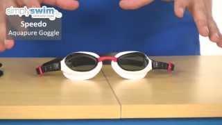 Speedo Aquapure Goggle - www.simplyswim.com