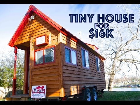 Tiny House On Wheels For Sale- $16k