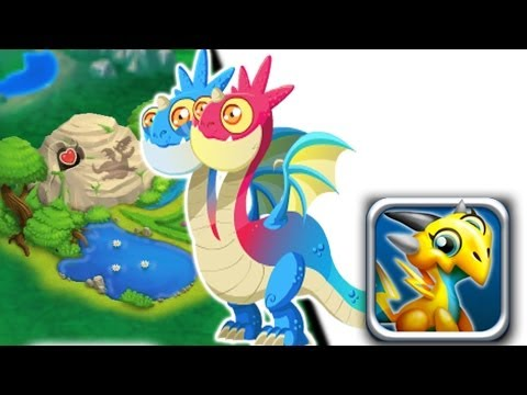 How to breed Two Headed Dragon 100% Real! Dragon City Mobile!