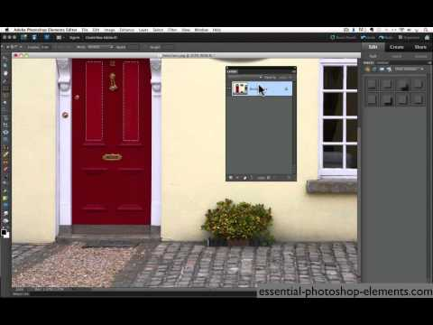 HOW TO USE PHOTOSHOP ELEMENTS MARQUEE TOOLS