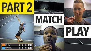 NTRP 5.0 vs 5.5 Tennis Match Play - PART 2 (Ian vs. Kevin)