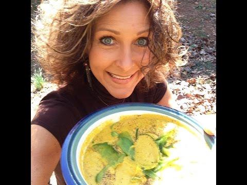 Raw Vegan CREAMY SQUASH SOUP !!!