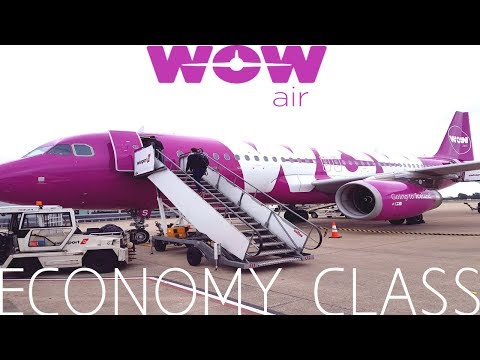 WOW Air ECONOMY CLASS Bristol to Reykjavik|A320