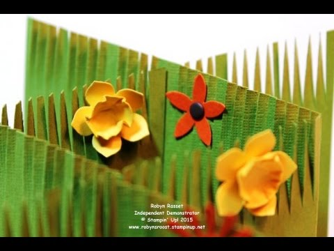 Cascading Accordion Fold Card Tutorial