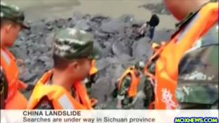 Landslide In China Leaves More Than 100 People Missing!