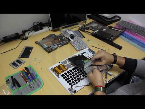 Cambio de teclado - Sony VAIO SVF14 disassembly and replace keyboard