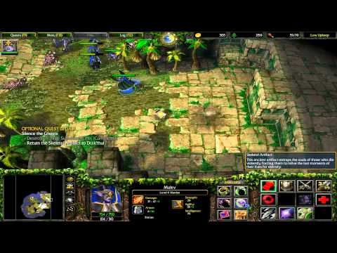 Warcraft 3: The Frozen Throne - Sentinels 02 - The Broken Isles