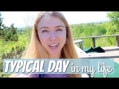 A TYPICAL DAY IN MY LIFE | Cleaning Montage, Studying, My Property, & More