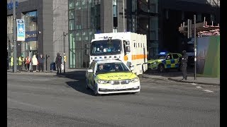 Greater Manchester Police - Merseyside Police / High Risk Murderer's / Convoy