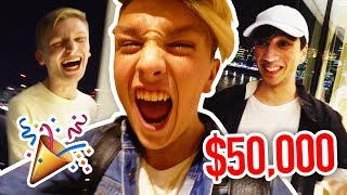 INSANE $50,000 YOUTUBER PARTY!! (went WAY too far..)