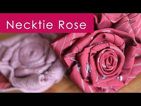 Kristen's DIY Necktie Rose | Father's Day Gift Idea