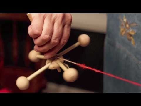 Drop Spindle | Spinning Wool Roving Into Yarn | Drop Spinning Tutorial