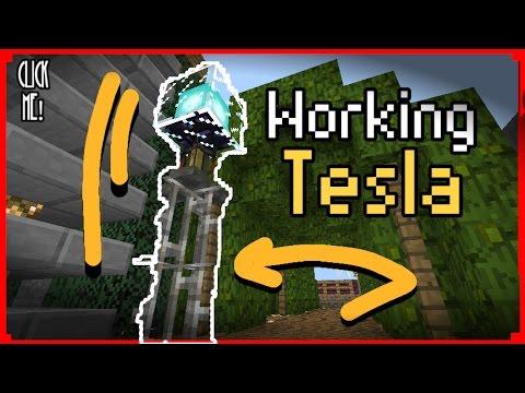 Make A Working Tesla |Trap|Troll| MinecraftPe