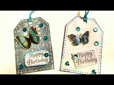 Butterfly Gift Tags | Paper Crafts