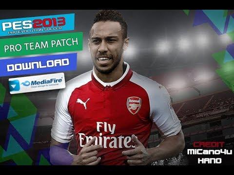 PES 2013 PRO TEAM PATCH 2018/2019 - Mini Patch 850 MB
