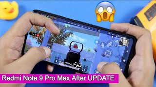 Redmi Note 9 Pro Max PUBG Test after UPDATE | FPS Test, 60 FPS Gaming😱😱