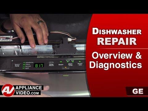 GE Dishwasher - Overview & Diagnostics and Error codes