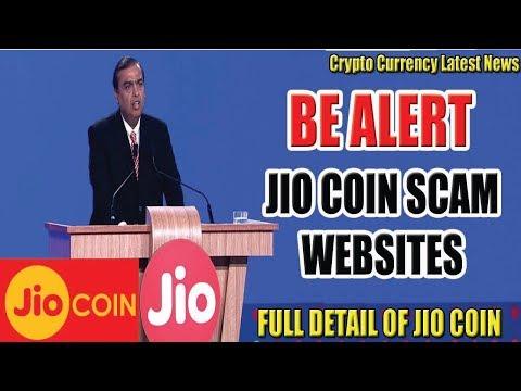 Reliance Jio Coin Ico Start || Be Alert || Fake / Scam Websites || जिओ की फेक साइट्स से बचे