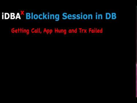 Find Blocking Session and Release Immediately in Oracle
