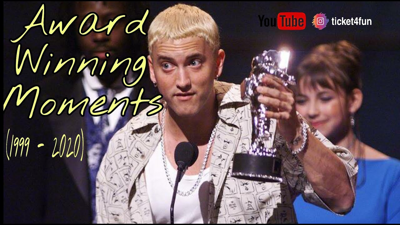 Eminem Best Award Winning Moment and Speech (1999-2020)
