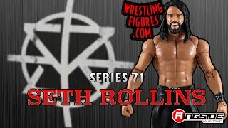 WWE FIGURE INSIDER: Seth Rollins - WWE Series 71 WWE Toy Wrestling Action Figure