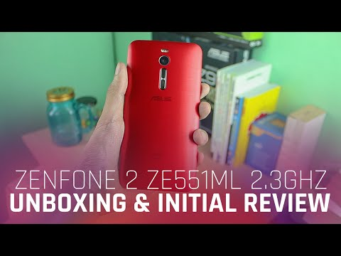 ASUS Zenfone 2 (ZE551ML 2.33GHz) Unboxing and Initial Review