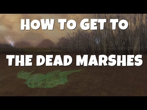 How to reach the Dead Marshes in LOTRO