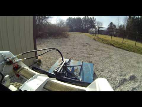 DIY Bush Hog PTO to Hydraulic Skid Steer Conversion