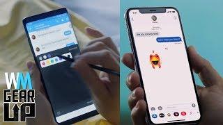 iPhone X VS Samsung Galaxy Note 8 - Gear Up^