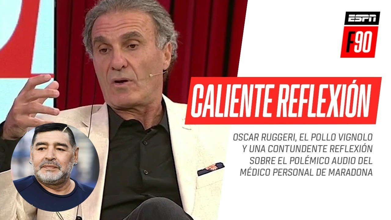 ¡CONTUNDENTE! Oscar #Ruggeri y una caliente reflexión sobre la muerte de Diego #Maradona
